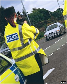 Speed trap - PSNI image library