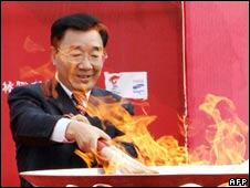 Communist Party boss for Tibet Zhang Qingli