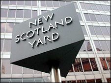 Metropolitan Police headquarters in London