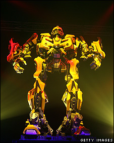 Bumblebee from the Transformers