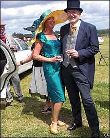 Sue Phillips and Rod Grainger