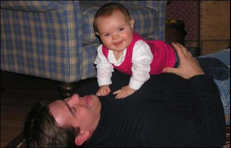 Neil Entwistle and baby