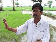 Paddy farmer Ram Nivas Sehrawat