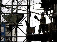 Mumbai construction site