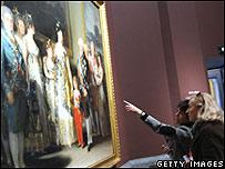 Visitantes en el Museo del Prado
