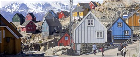 Greenland village. Image: BBC