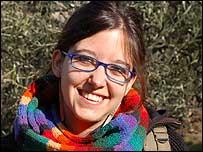 Mar�a Jos� Clunes, 21 a�os, estudiante de sociolog�a de la Universidad de Chile