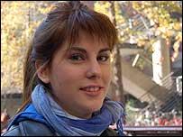 Camila Silva, 18 a�os, estudiante de Ciencias Biol�gicas de la Universidad Cat�lica