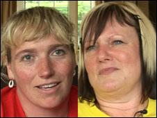 Helen Gray, left, and Christine Bonner