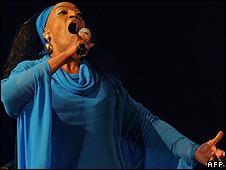 US opera singer Jessye Norman