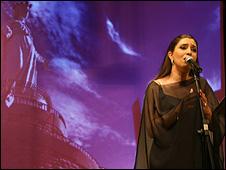 Lebanese singer Ghada Shbeir