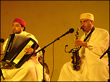 Moroccan musicians at Fes