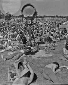 Glastonbury Festival 1971 :photo Mervyn Penrose Rand