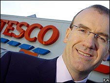 Tesco chief executive Sir Terry Leahy