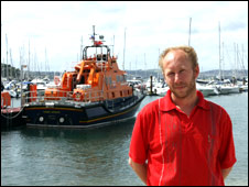 David McMurdo, pic courtesy of RNLI
