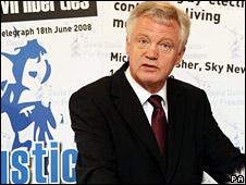 David Davis launches his campaign