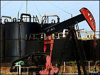 Extracción de crudo en Lagunilla