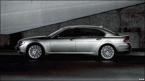 Updating the BMW 7 to a 2008 variant could cost £61,000