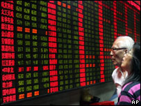Valores de la Bolsa de Shanghai