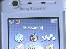 Sony Ericsson handset