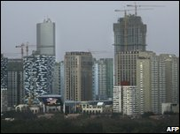Skyscrapers in Beijing