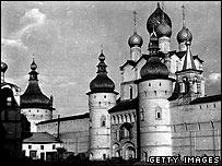 Inside Rostov's Kremlin in 1945