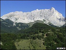 French mountains (Image: Science)