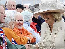 Duchess of Cornwall in Blackpool
