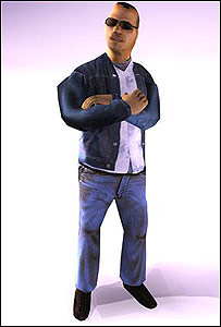 "Tarik Amed, protagonista del juego ""Bordergames"""