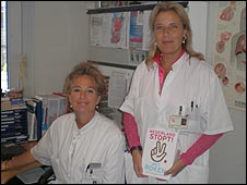 Doctors Pauline Dekker and Wanda de Kanter