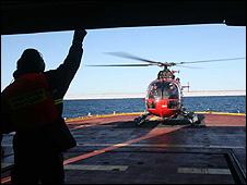 Helicopter  (Liz Kalaugher/IOP)