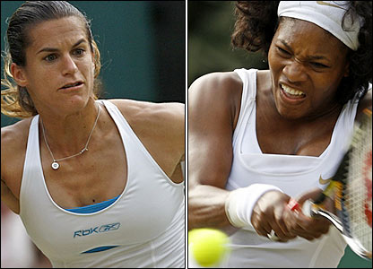 Mauresmo and Williams