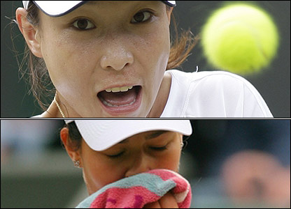 Zheng overcomes the world number one
