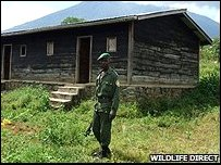 Gatovu patrol post (image: WildlifeDirect)