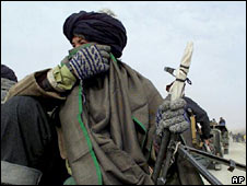 A Taleban fighter in Afghanistan. File photo