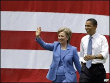 Hillary Clinton and Barack Obama in Unity, 27/06