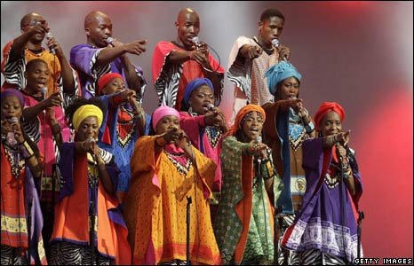 The South African Soweto Gospel Choir