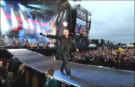 Simple Minds' singer, Jim Kerr