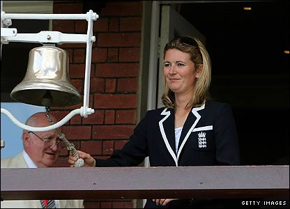 Charlotte Edwards at Lord's