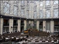 Parlamento flamenco en Bruselas