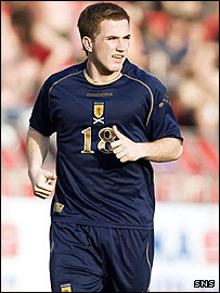 Ross McCormack was a Scotland sub against Czech Republic