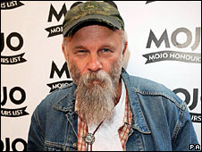 Seasick Steve, pictured earlier this month