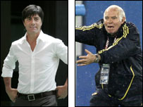Joachim Low and Luis Aragones