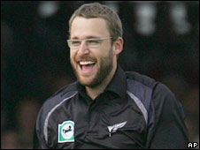 New Zealand captain Daniel Vettori