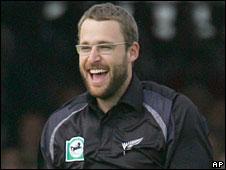 New Zealand captain Daniel Vettori