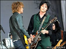Brendan Benson and Jack White