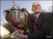 Edinburgh City boss Tom Steven