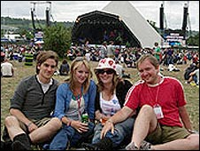 David Rowlands (far right)