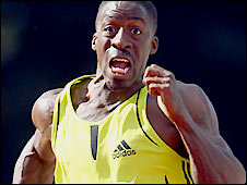 Chambers was banned after testing positive for steroids in 2003.