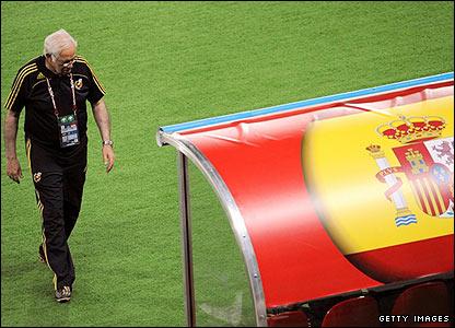 Spanish boss Luis Aragones